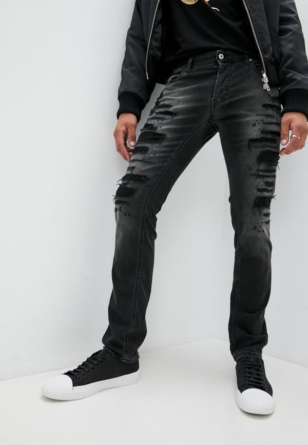 мужские прямые джинсы just cavalli, черные