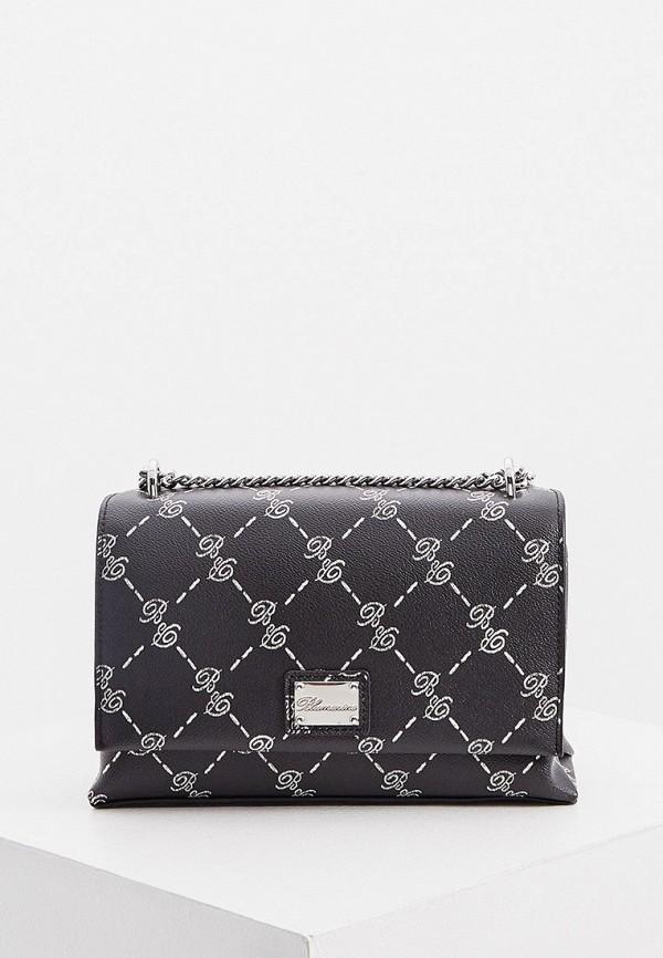 женская сумка blumarine, черная