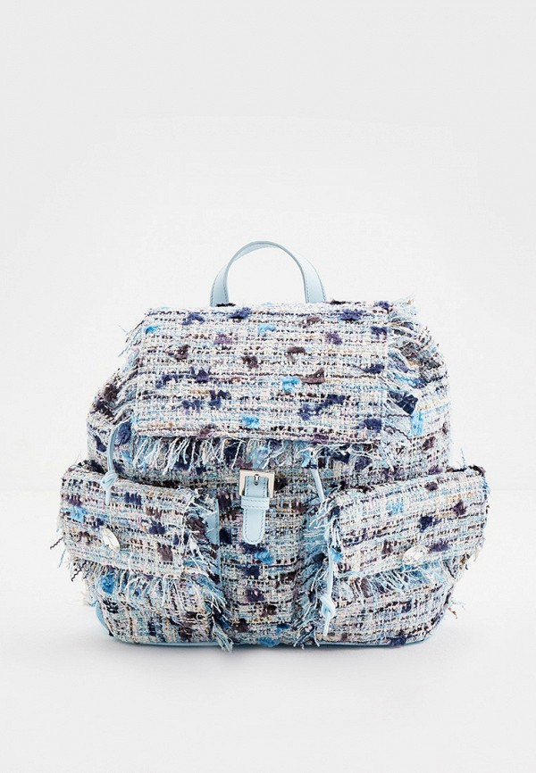 женский рюкзак blumarine, голубой