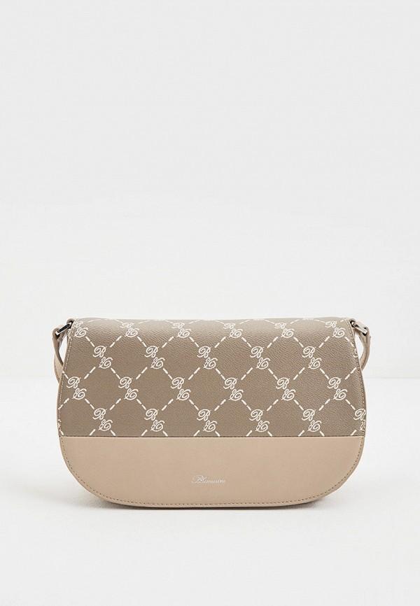 женская сумка blumarine, хаки