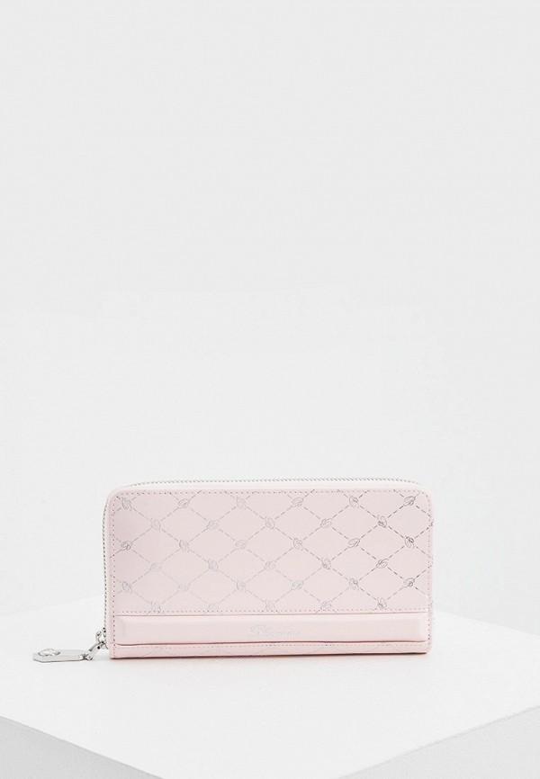 женский кошелёк blumarine, розовый