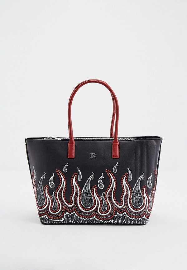 женская сумка-шоперы john richmond, черная
