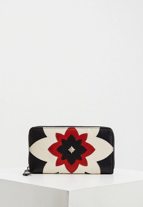 женский кошелёк john richmond, разноцветный
