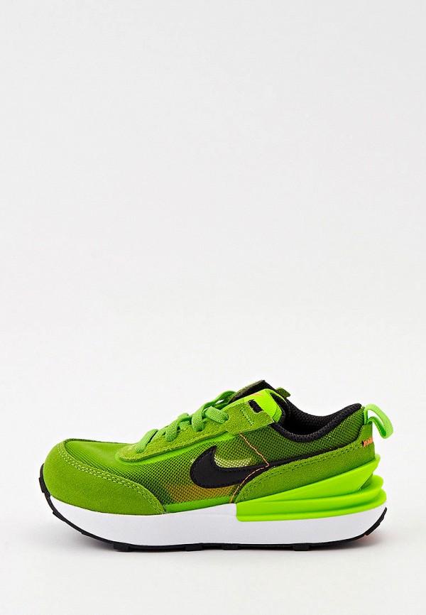 кроссовки nike малыши, зеленые