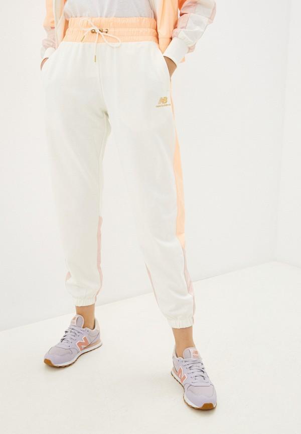 женские спортивные брюки new balance, бежевые
