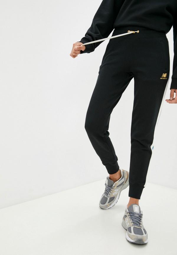 женские спортивные брюки new balance, черные
