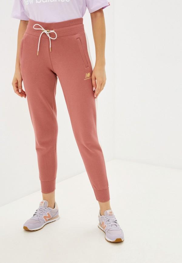 женские спортивные брюки new balance, розовые