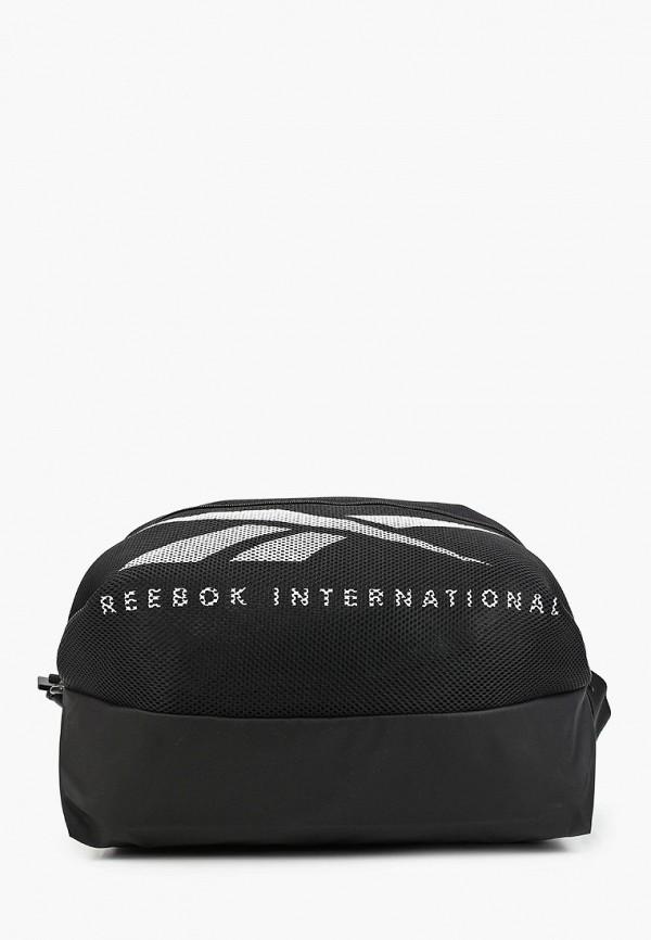 Сумка спортивная Reebok черного цвета