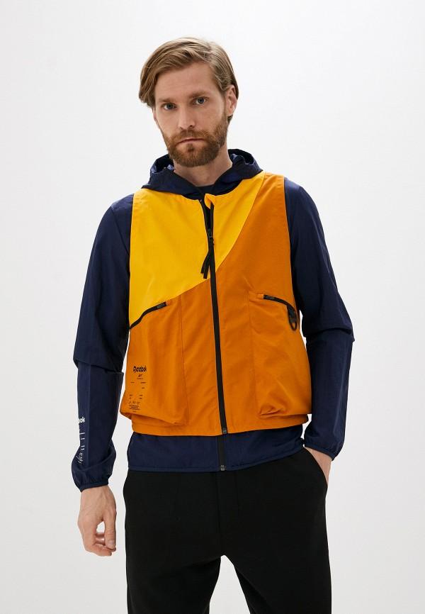 Жилет спортивный Reebok оранжевого цвета