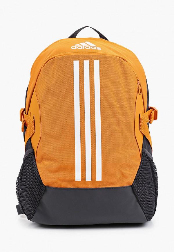 женский рюкзак adidas, оранжевый