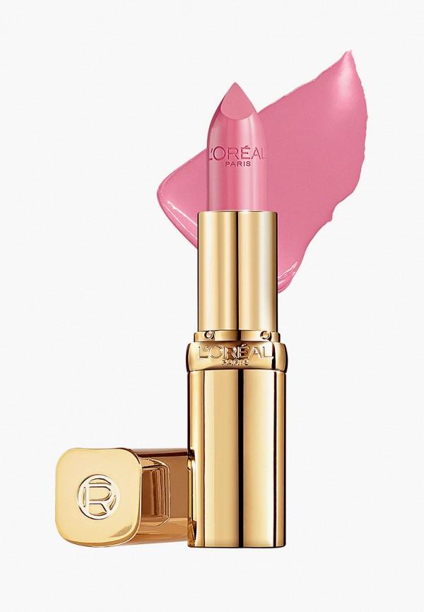 женская помада l'oreal paris, розовая