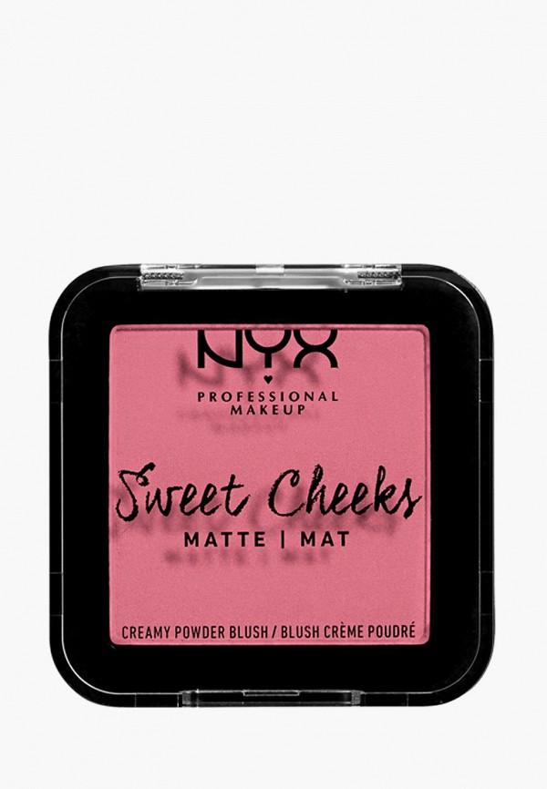 женская румяна nyx professional makeup, розовая