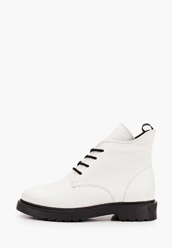 женские ботинки vittorio bravo, белые