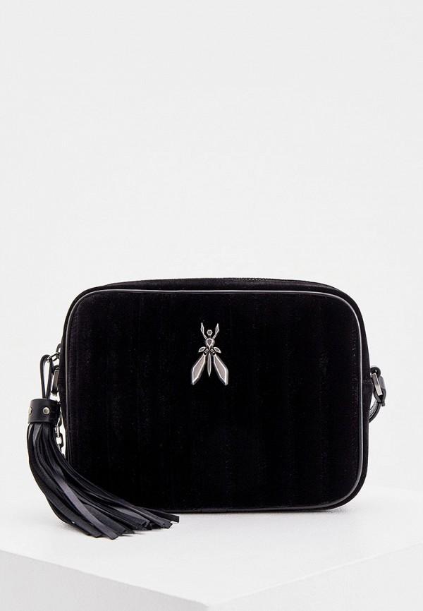 женская сумка patrizia pepe, черная