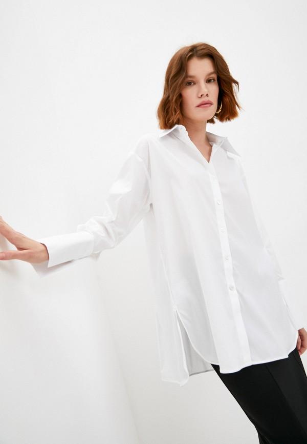 женская рубашка с длинным рукавом patrizia pepe, белая