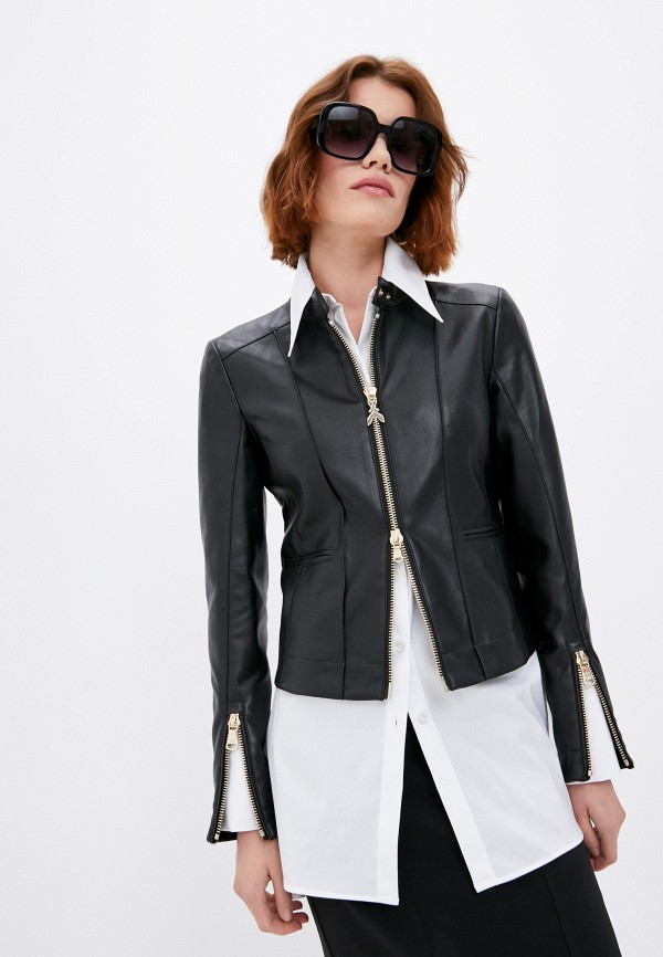 Куртка кожаная Patrizia Pepe RTLAAN050101I420