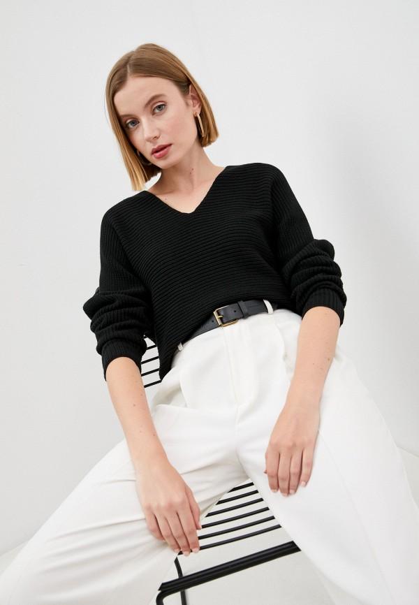 женский пуловер lauren ralph lauren, черный