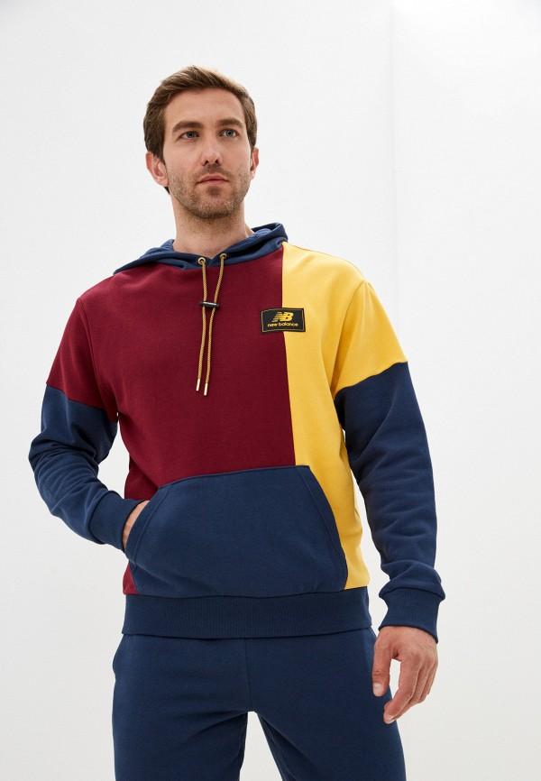 мужские худи new balance, разноцветные