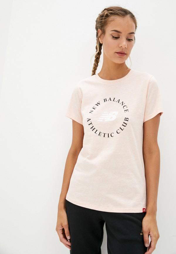 женская спортивные футболка new balance