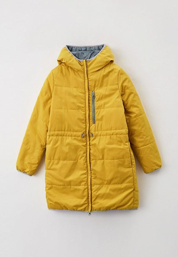 утепленные куртка boom by orby для девочки, разноцветная
