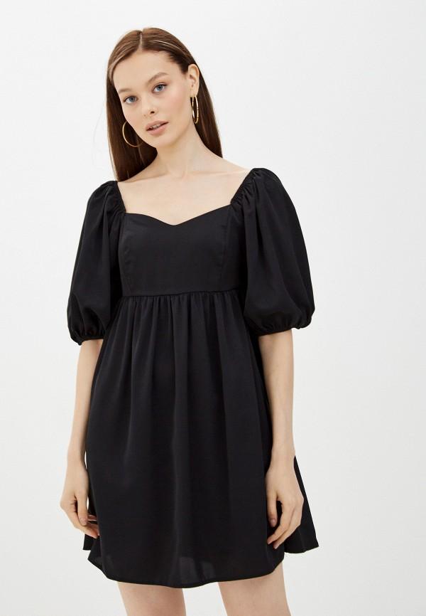 женское повседневные платье miss gabby, черное