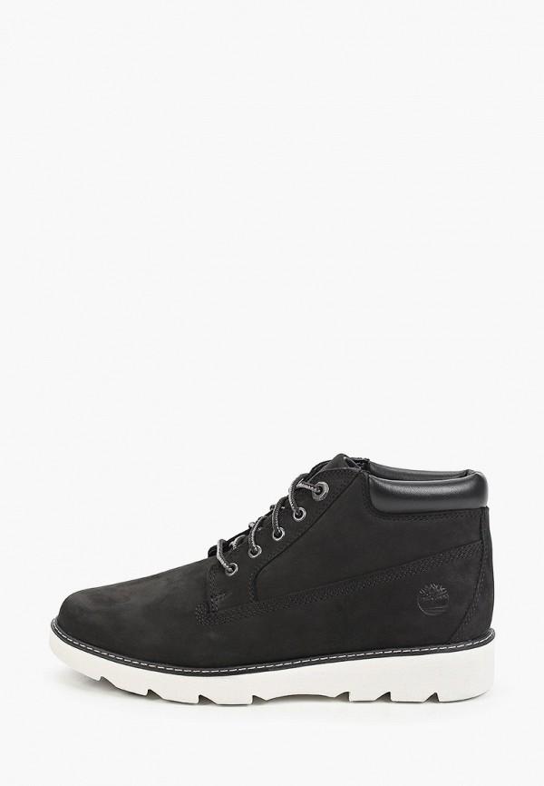 женские низкие ботинки timberland, черные