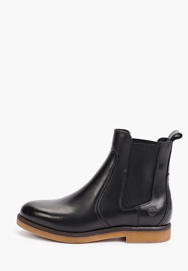 женские ботинки-челси timberland, черные
