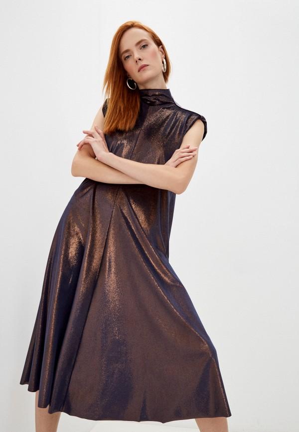 Платье Forte Forte синего цвета