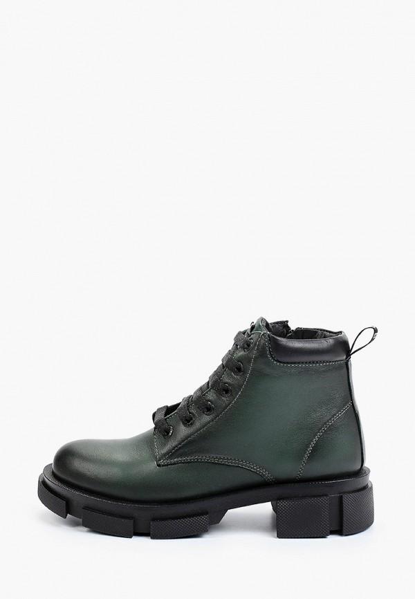 женские высокие ботинки flystep, зеленые