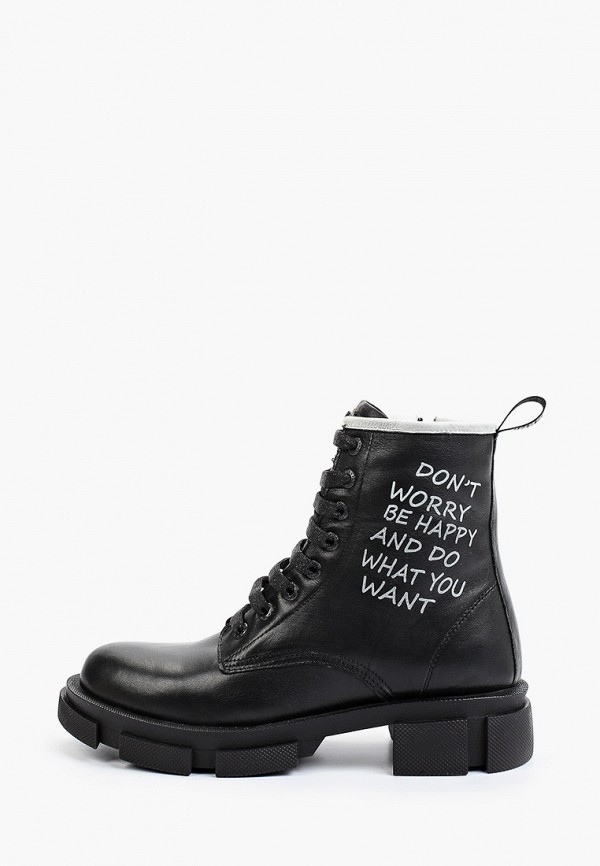 женские ботинки flystep, черные