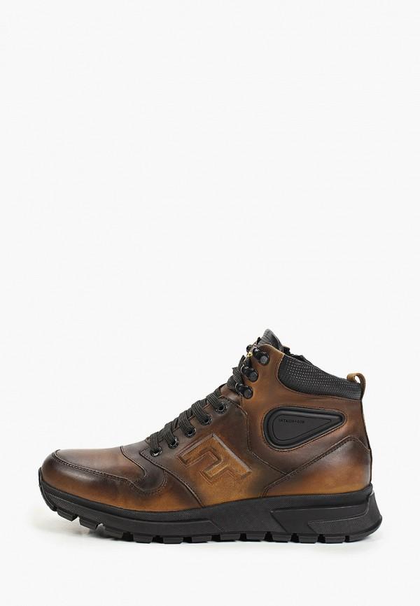 мужские ботинки flystep, коричневые
