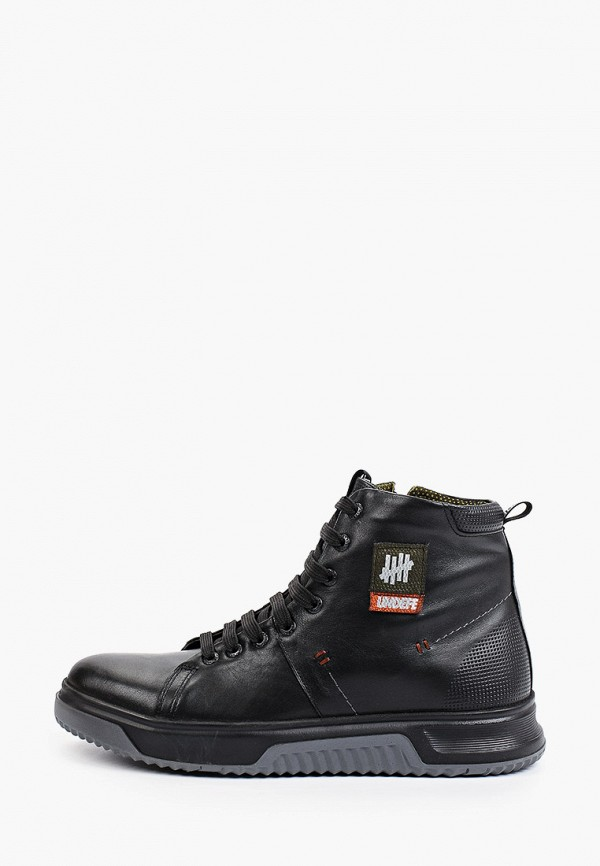 мужские ботинки flystep, черные