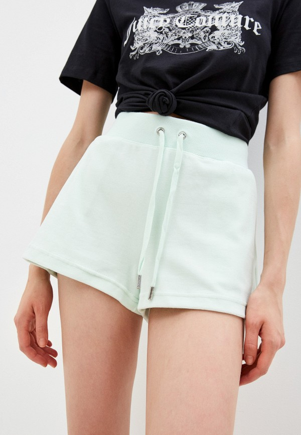 женские спортивные шорты juicy couture, зеленые