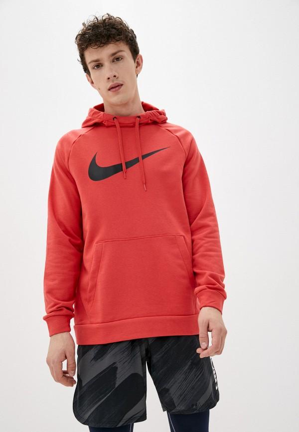 Худи Nike красного цвета