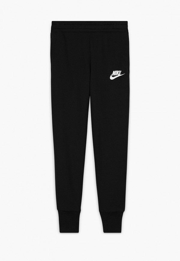 спортивные брюки nike для девочки, черные