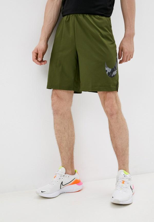 мужские спортивные шорты nike, хаки