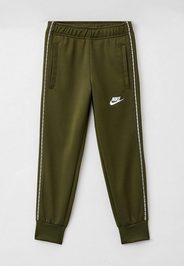 спортивные брюки nike для мальчика, хаки