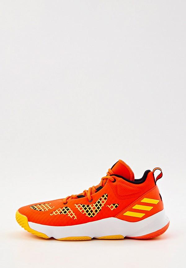 мужские кроссовки adidas, оранжевые