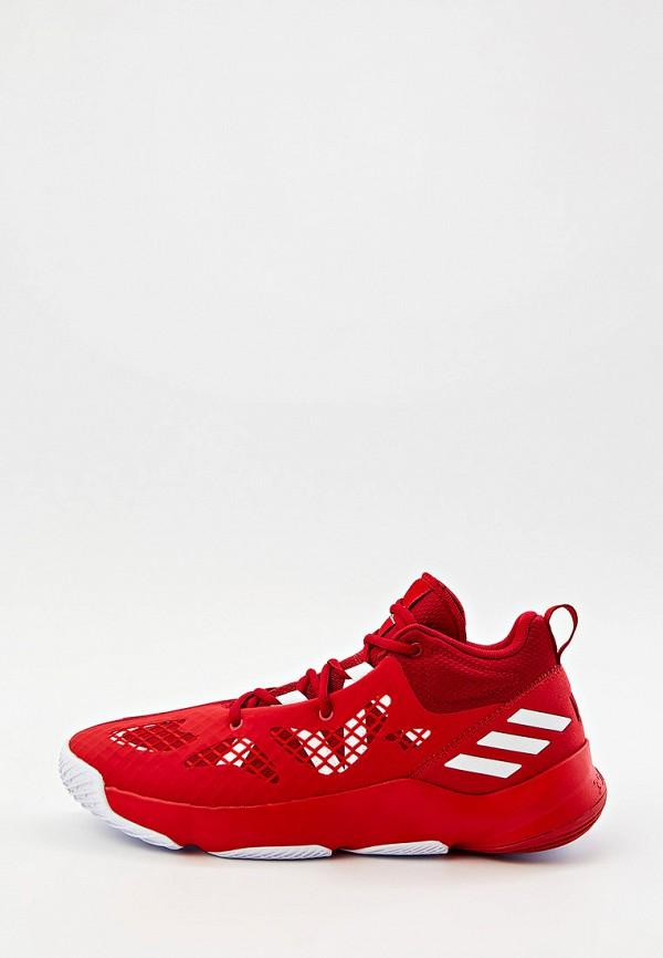 мужские кроссовки adidas, красные