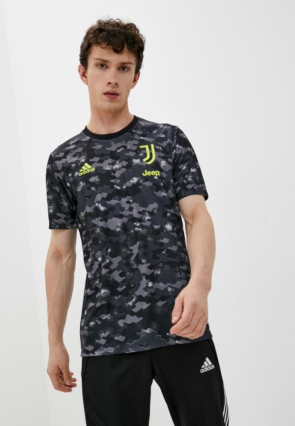 мужская футболка с коротким рукавом adidas, разноцветная