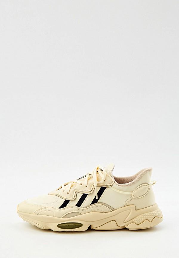 мужские кроссовки adidas, бежевые