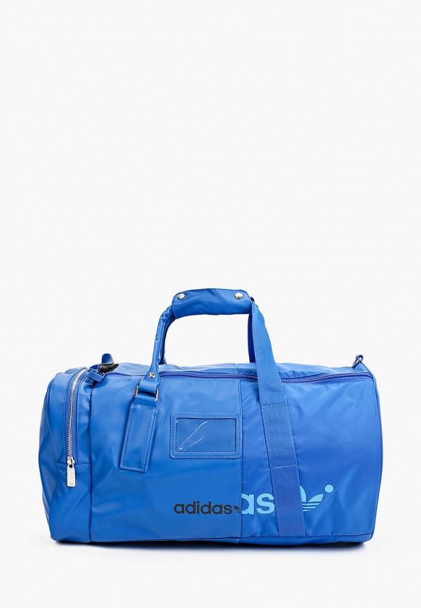 женская спортивные сумка adidas, синяя