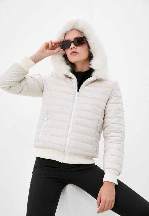 Куртка утепленная Z-Design белого цвета