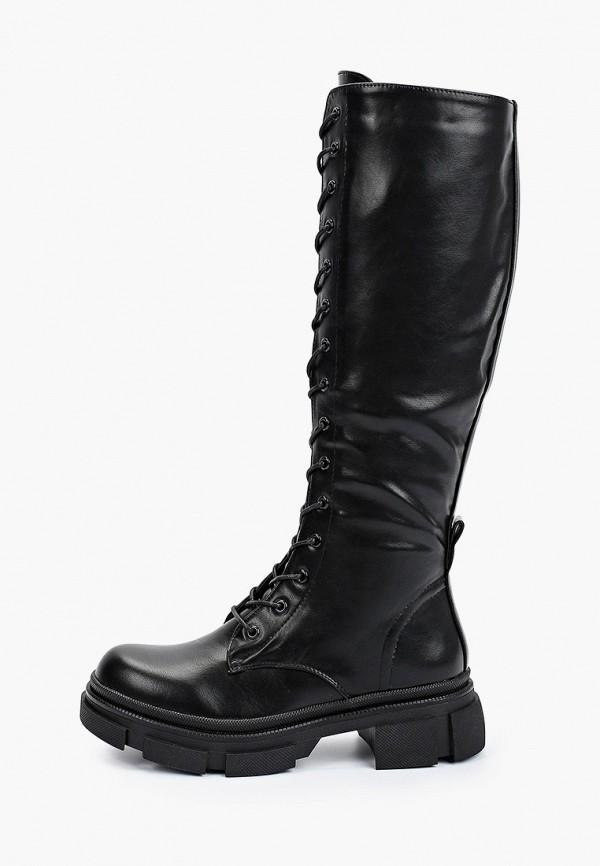 Сапоги Fashion & Bella черного цвета