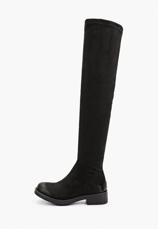 женские ботфорты vera blum, черные