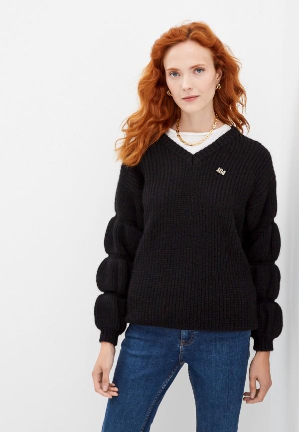 женский пуловер j.b4, черный