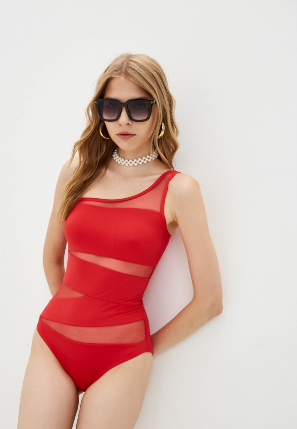 женский купальник winzor, красный