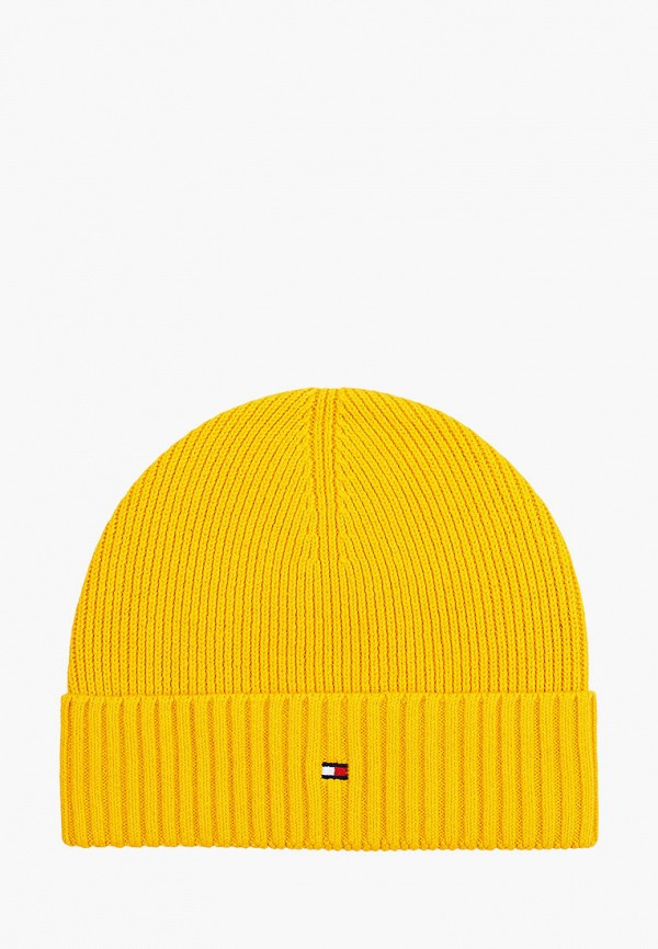 Шапка Tommy Hilfiger желтого цвета