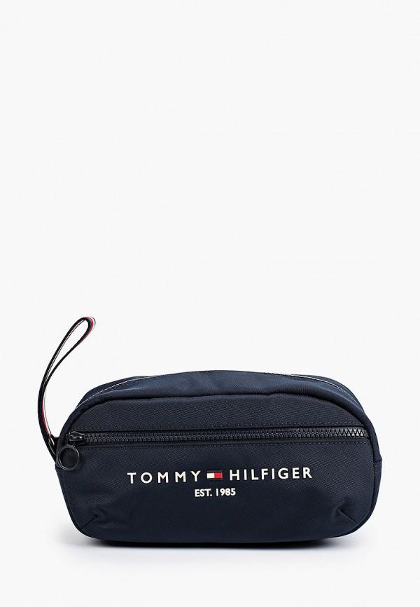 Несессер Tommy Hilfiger синего цвета