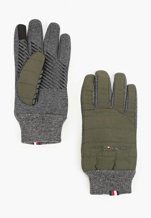 Перчатки Tommy Hilfiger цвета хаки